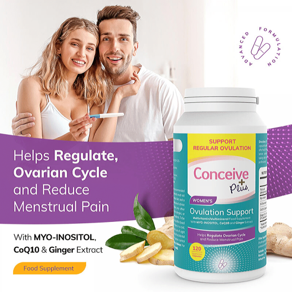 myo-inositol help regulate PCOS ovarian cycle TTC pills by Conceive Plus